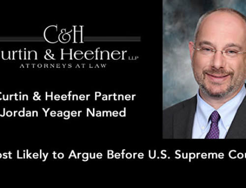 Jordan Yeager Named Most Likely to Argue Before U.S. Supreme Court