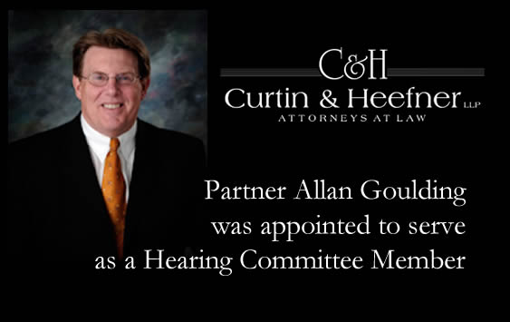 social-Partner Allan Goulding was appointed to serve as a Hearing Committee Member