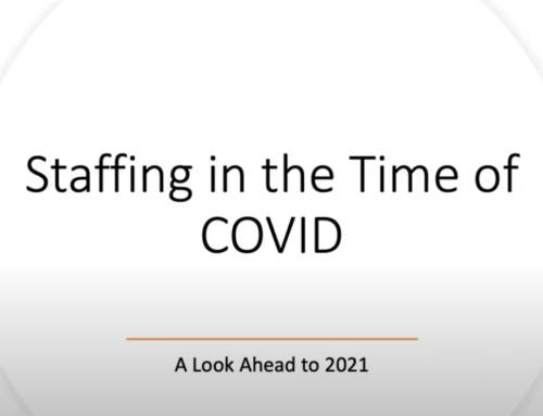 Staffing During CoVid Webinar From Timothy Szuhaj